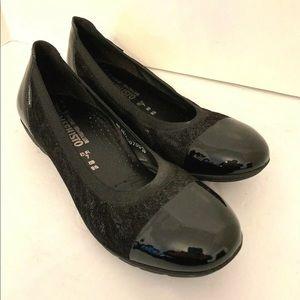 9.5M (EUR 7) Mephisto Black Leather